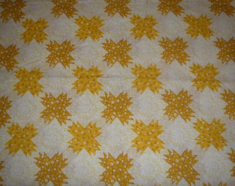 Sunny Yellow TWIN FLAT Sheet - Reclaimed Bed Linens