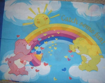 Care Bears STANDARD PILLOWCASE - Reclaimed Bed Linens