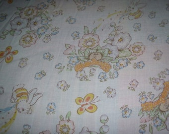 Cabbage Patch TWIN FITTED Sheet - Reclaimed Bed Linens