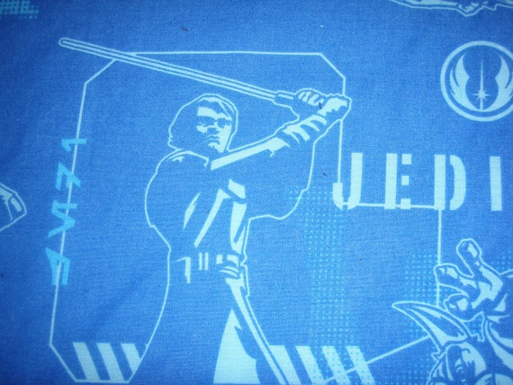 Reclaimed Star Wars TWIN FLAT Bed Sheet - Reclaimed Bed Linens