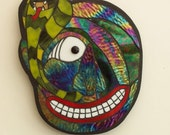 Asian Sanni Stained Glass Mask