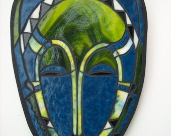 Baule Stained Glass Mask