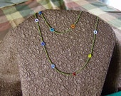 Hand-Crafted Daisy Chain Necklace