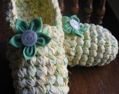 Rag Crochet Slipper Pattern for Adults