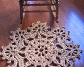 Rag Crochet Rug Pattern Fans on the Edge
