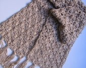 Horizontal Cluster Scarf Pattern
