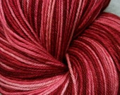Gradient Self-Striping Sock Yarn -  Raspberry