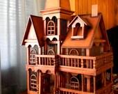 RESERVED - Decorative Vintage Bird Cage/Dollhouse