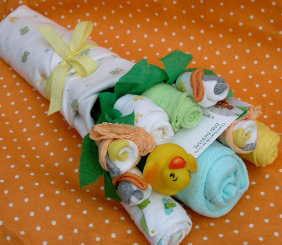 Baby Gender Neutral Gift Bouquet