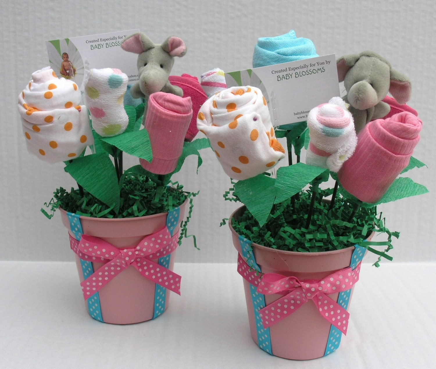 Baby shower centerpieces for girls party favors ideas for Baby shower decoration images