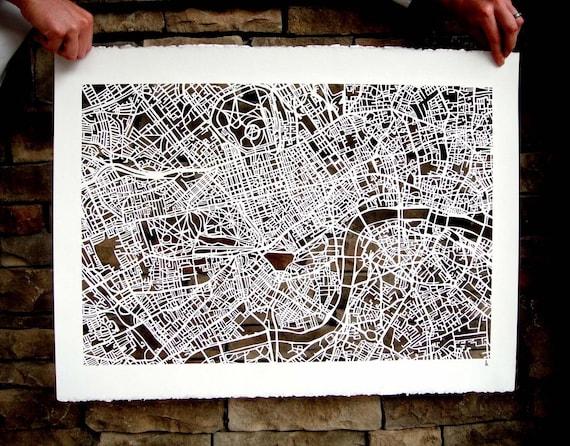 london mapcut