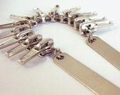Metal Zip N108 necklace