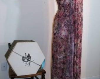 Vintage Fabric Yardage Beautiful Parisian Muted Colors