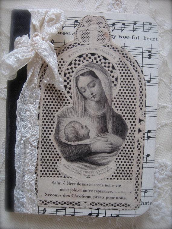 French Flea Market Petite Notebook - Jeanne Darc - Christmas