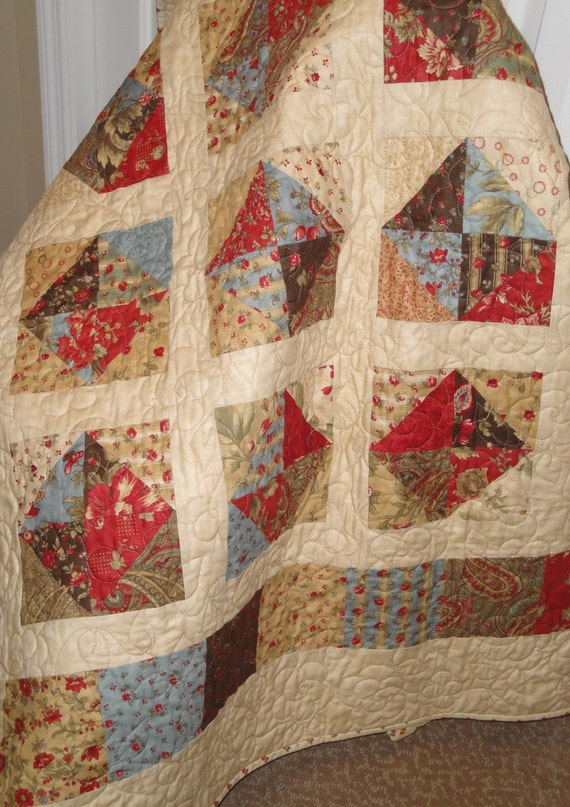 Quilting Pattern Squares : Arebella Quilt Pattern using Charm Squares an by saratogastitches