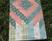 Vintage Patchwork Fabric Covered Journal