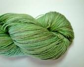 Eartha  Bamboo Blend Sock Yarn - Wheat Grass Shot