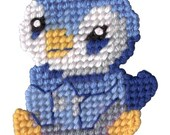 Pokemon Piplup Needlepoint Magnet