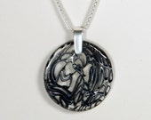 Black and White Cytogenetic Necklace