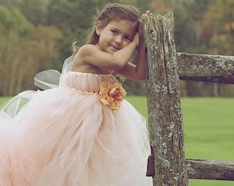 Peaches and Dreams Tutu Dress