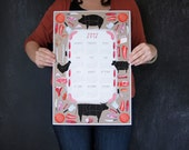 2012 Meat and Butcher Calendar wall poster