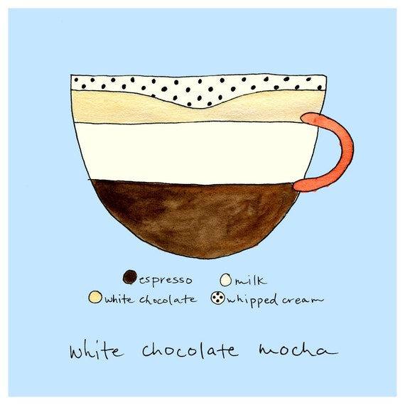 Inside a White Chocolate Mocha