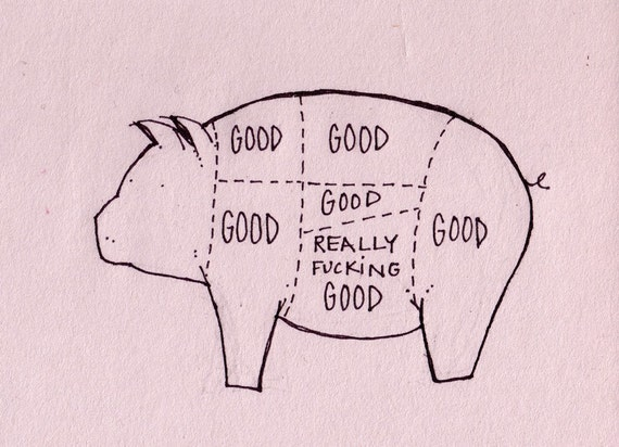 the tastiest pig part