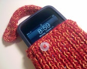 Knitting Pattern Phone Case Tutorial Phone Cozy Pattern Easy with Strap Multiple Styles Tips Sell What You Make PDF File Instant Download