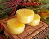 Soy Tea Lights - Mountain Honey - Set of 12 - Handcrafted