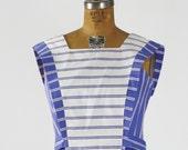 Lanz Sailor Dress with Bib Front