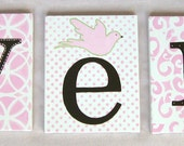 "8""x10"" Name Canvas Letters"