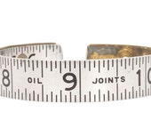 Vintage Lufkin Ruler Bangle - Oil Joints