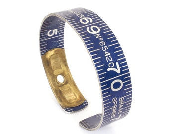 Vintage GlobeMaster Ruler Bangle with Emblem