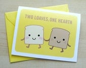 Two Loaves, One Hearth Card