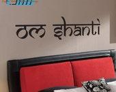 Om Shanti - Vinyl Wall Art - FREE Shipping