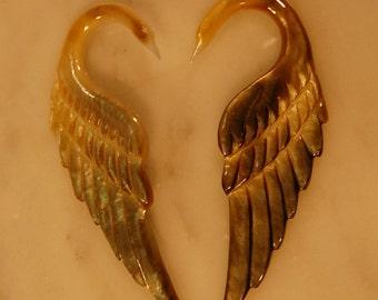 Ear plug 6 Gauge Swan