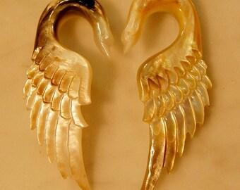 Ear plug 4 Gauge Swan