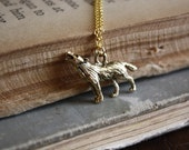 Wolf Necklace - Werewolf Necklace - Spirit Animal - Animal Totem