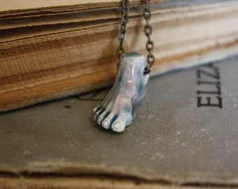 Zombie Necklace - Halloween Jewelry