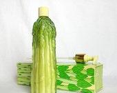 BLACK FRIDAY/CYBER Monday Avon Garden Fresh Moisturized Hand Lotion in Adorable Asparagus Bottle