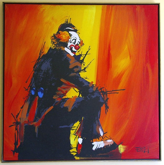 John Wayne Gacy Painting For Sale Etsy