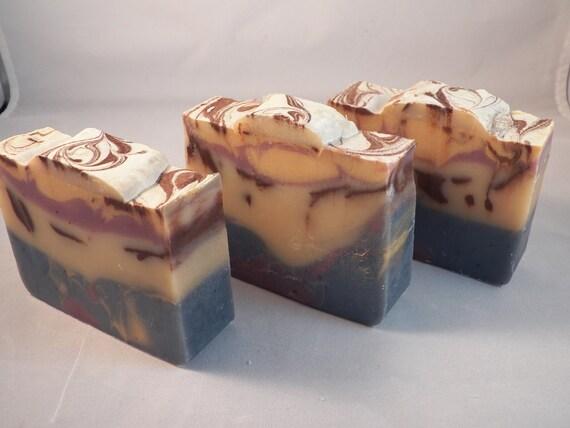 Monkey Farts Luxury Shea Butter Cold Process Soap - Soap Butt LAST BAR