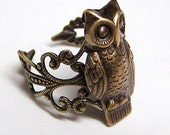 Steampunk Barn OWL, Cute and Adorable