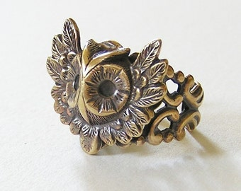 OWL RING, cute and adorable