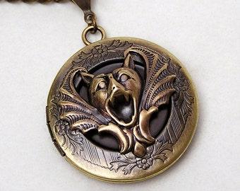 GARGOYLE Locket, Necklace Pendant