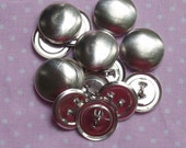 50 19mm Shank Backs  (Size 30) Self Cover Buttons - DIY Cover Buttons,  Wire Backs - AUSTRALIA