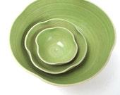 3 good luck clOver-bowls