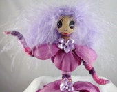 LeeAnn, A Fantasy Posable Yarn Art Doll, OOAK