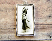 Egyptian Dancing Girl Bunny Menace Pendant