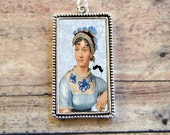 Early Hipster JANE AUSTEN Pendant
